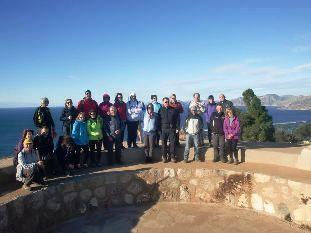 27 participantes se dan cita en la 4ª jornada del programa de Senderismo en la Sierra de la Fausilla, en el litoral de Cartagena, Foto 8