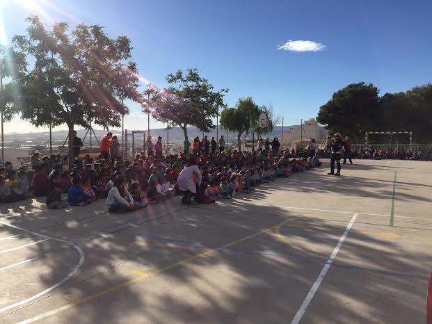 Protección Civil ofrece unas sesiones teóricas sobre primeros auxilios ante accidentes domésticos a los alumnos de los colegios San José y La Cruz, Foto 5