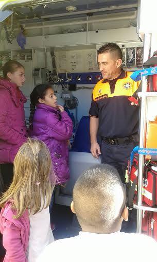 Protección Civil ofrece unas sesiones teóricas sobre primeros auxilios ante accidentes domésticos a los alumnos de los colegios San José y La Cruz, Foto 8