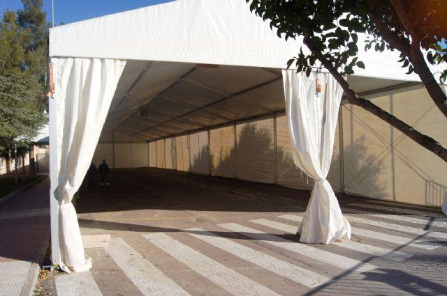 La Feria de Día, instalada este año en el lateral de la iglesia de Santiago, se inaugura mañana a partir del mediodía, Foto 3