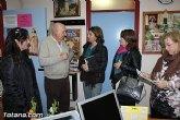 La vicesecretaria Sectorial del PP regional, Severa González, visitó el centro de mayores de Totana
