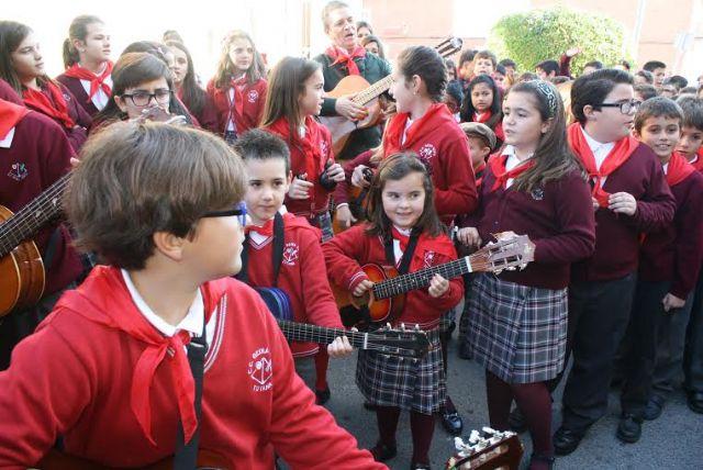"""Las comunidades educativas de los colegios """"Santa Eulalia"""" y """"Reina Sofía"""" celebran sus tradicionales romerías escolares, Foto 4"""