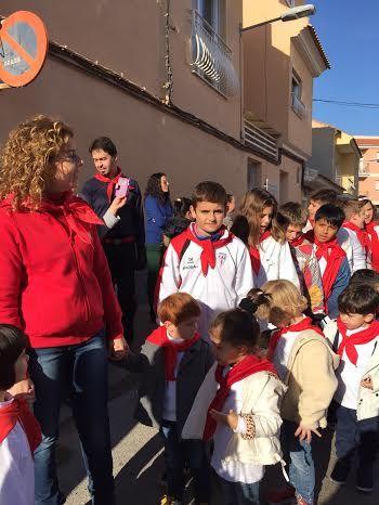 """Las comunidades educativas de los colegios """"Santa Eulalia"""" y """"Reina Sofía"""" celebran sus tradicionales romerías escolares, Foto 5"""
