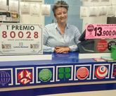 El terminal de loter�a ubicado en la librer�a Sopa de Letras de Alhama de Murcia ha dado el Primer Premio de la Loter�a Nacional