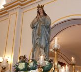 La Inmaculada Concepci�n celebra su onom�stica