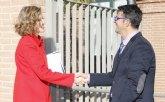 El totanero, Juan Carrión, Presidente de FEDER, traslada a Su Majestad la Reina las propuestas de la organización para 2016