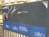 Denuncian actos vandálicos en los carteles de propaganda electoral del PP