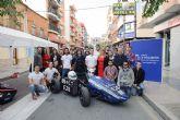 Alumnos de la UPCT exponen en Mazarrón su último prototipo de monoplaza de competición