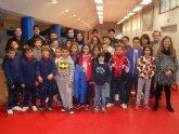 """La Concejalía de Deportes organizó la Fase Local de Ajedrez de Deporte Escolar, en el Pabellón de Deportes """"Manolo Ibáñez"""