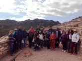 """El Centro de Día para Personas con Enfermedad Mental organiza una visita guiada al yacimiento arqueológico de """"La Bastida"""""""