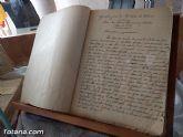 El Archivo municipal recibe documentos donados por los herederos del ilustre historiador José María Munuera y Abadía, Hijo Adoptivo de Totana - 6