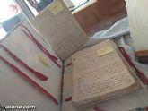El Archivo municipal recibe documentos donados por los herederos del ilustre historiador José María Munuera y Abadía, Hijo Adoptivo de Totana - 7