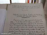 El Archivo municipal recibe documentos donados por los herederos del ilustre historiador José María Munuera y Abadía, Hijo Adoptivo de Totana - 28