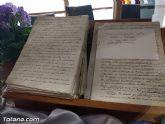 El Archivo municipal recibe documentos donados por los herederos del ilustre historiador José María Munuera y Abadía, Hijo Adoptivo de Totana - 30
