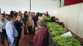 EL PP Regional Visita a Agrimur en Mazarrón