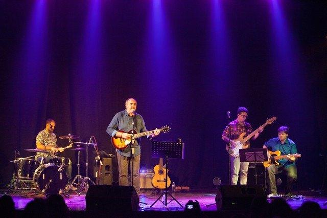 "Juanfran Esparza The singer presented his latest album ""The indomitable traveler"" - 3"