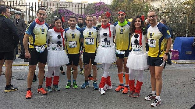 Nuevo pódium para el Club Atletismo de Totana en la San Silvestre de Lorca