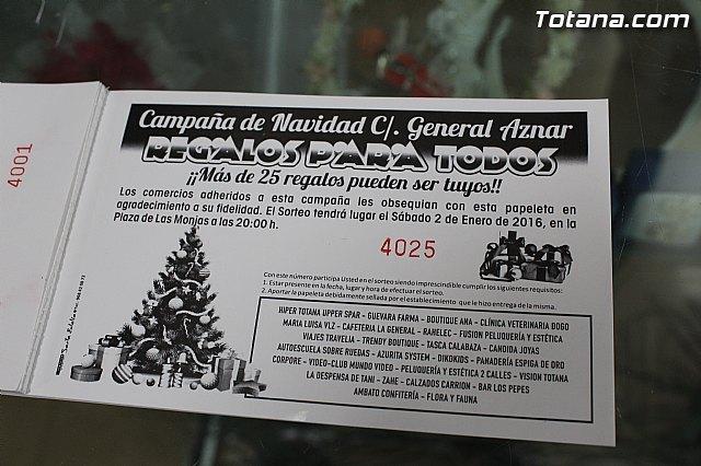 Mañana sábado 2 de enero se realizarán diversos actos con motivo de la campaña de Navidad llevada a cabo por comercios de la Calle General Aznar, Foto 1