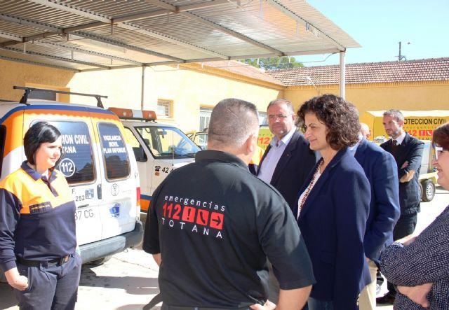 La Comunidad refuerza las tareas logísticas de la protección civil en Caravaca de la Cruz, Jumilla y Totana, Foto 1
