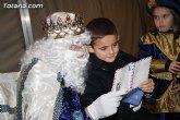 SSMM los Reyes Magos de Oriente recogerán las cartas de los niños y niñas de Totana este domingo y lunes, días 3 y 4 de enero