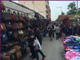 Se adelanta el mercadillo semanal de Totana al 5 de enero para no coincidir con el día de Reyes