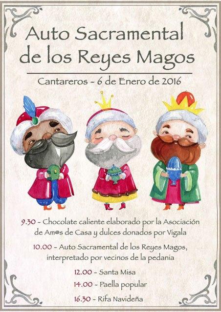 El tradicional Auto Sacramental de los Reyes Magos tendrá lugar el próximo 6 de enero en Cantareros, Foto 1