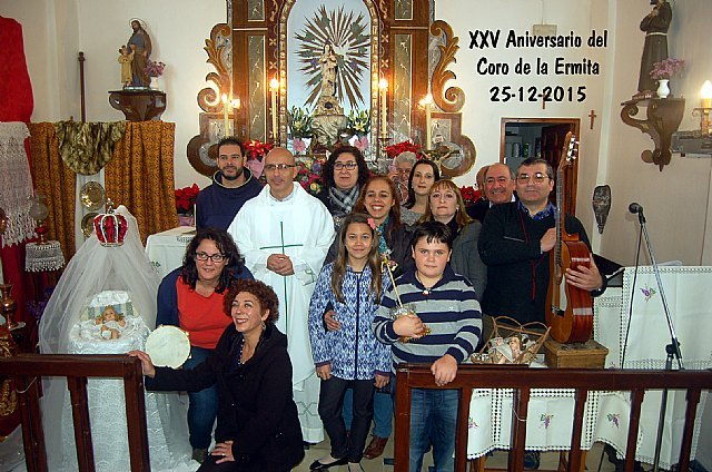 Celebración del día de Navidad y el día de Año Nuevo en la Ermita de La Huerta, Foto 1