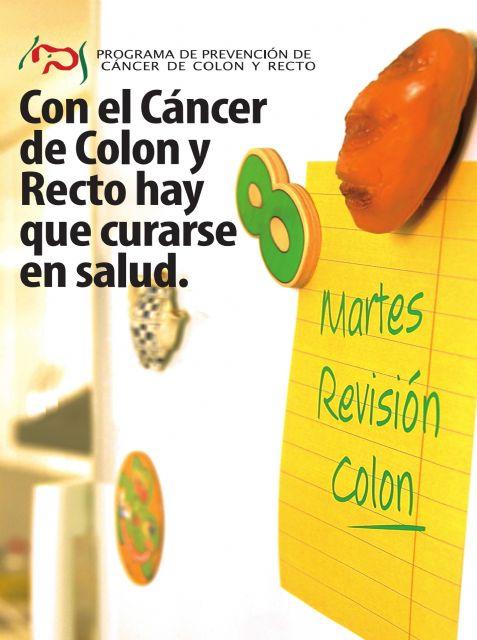Programa de Prevención de Cáncer de Colon y Recto. Del 13 al 29 de enero, Foto 1