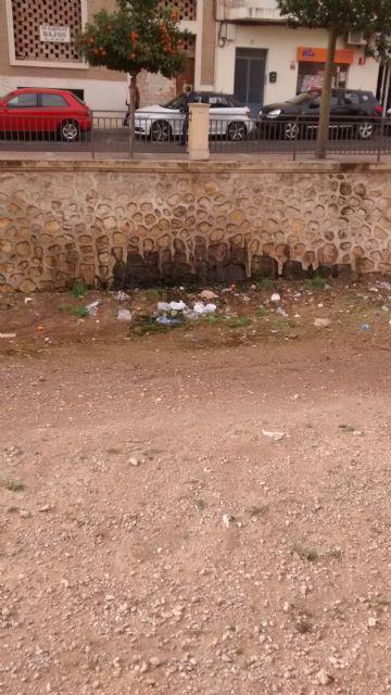 El PP denuncia el estado en el que se encuentra la rambla de la Santa por filtraciones de aguas fecales, Foto 3