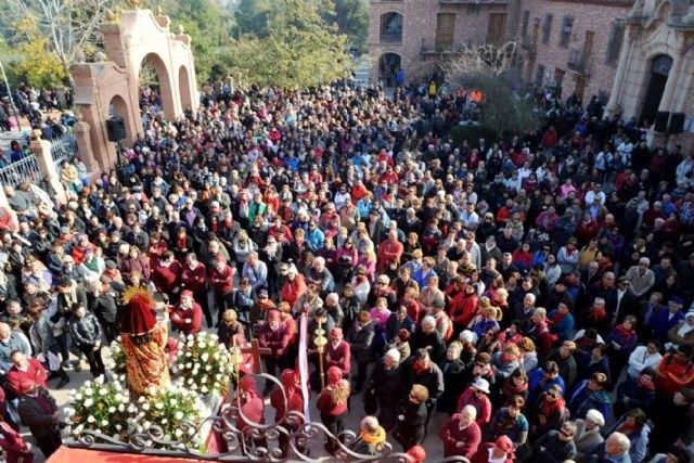 """La """"7 Televisión Región de Murcia"""" transmitirá mañana en directo la romería de regreso de la imagen de Santa Eulalia a su santuario, Foto 2"""