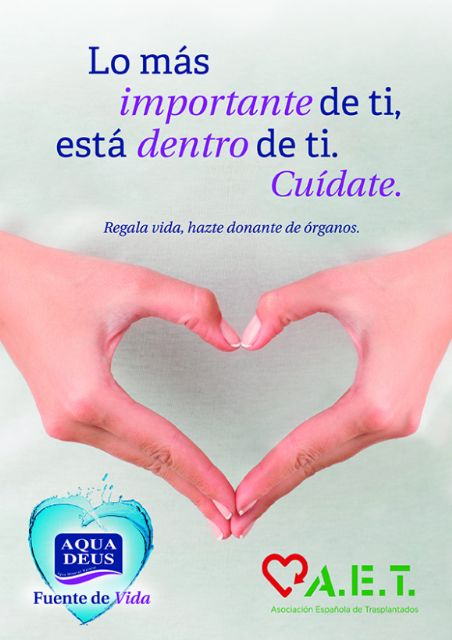 Aquadeus colabora con la Asociación Española de Trasplantados para fomentar la donación de órganos, Foto 2