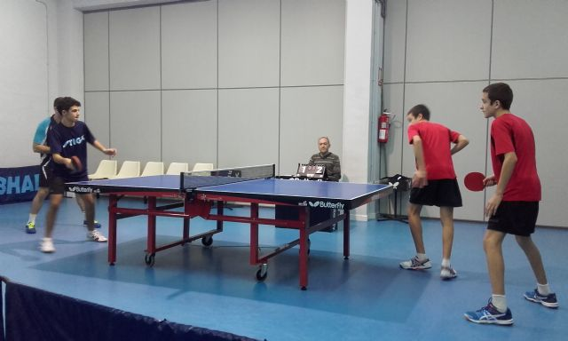 Tenis de Mesa. CTM Murcia 3 --- Totana B 4, Foto 2
