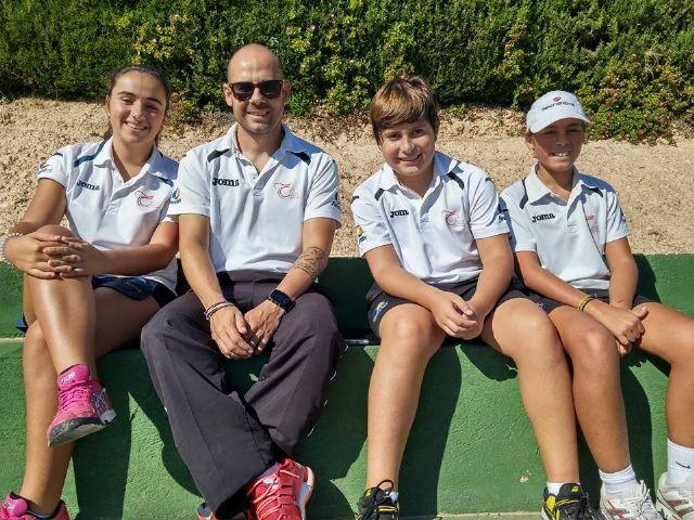 Exitoso final de año para los jugadores de la escuela del club tenis Totana, Foto 2