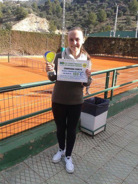 Exitoso final de año para los jugadores de la escuela del club tenis Totana, Foto 3