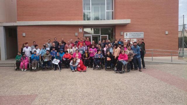 La Peña Barcelonista de Totana solidaria con las personas con discapacidad intelectual y enfermedad mental, Foto 1