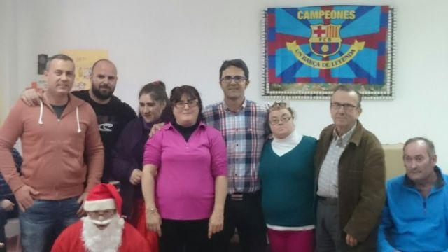La Peña Barcelonista de Totana solidaria con las personas con discapacidad intelectual y enfermedad mental, Foto 2