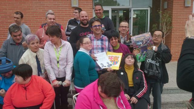 La Peña Barcelonista de Totana solidaria con las personas con discapacidad intelectual y enfermedad mental, Foto 3