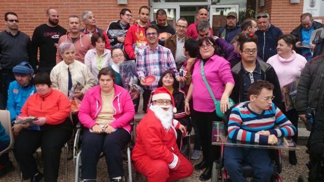 La Peña Barcelonista de Totana solidaria con las personas con discapacidad intelectual y enfermedad mental, Foto 4