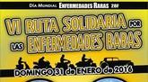 El 31 de enero tendrá lugar la VI ruta solidaria por las Enfermedades Raras