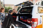 Protección Civil renueva su flota con un vehículo para rescate en playas e interior
