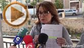 Rueda de prensa PP Totana sobre filtraciones en la rambla de La Santa