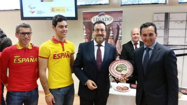 ElPozo Alimentación apoya al Equipo Paralímpico Español en su camino a Río 2016, Foto 1