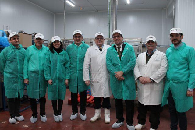 PALANCARES ALIMENTACIÓN recibe la visita del Secretario General de Industria y de la Pequeña y Mediana Empresa, Foto 1