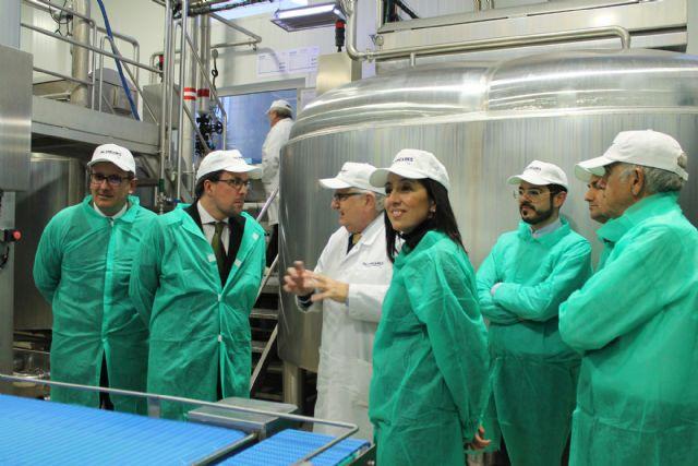 PALANCARES ALIMENTACIÓN recibe la visita del Secretario General de Industria y de la Pequeña y Mediana Empresa, Foto 2