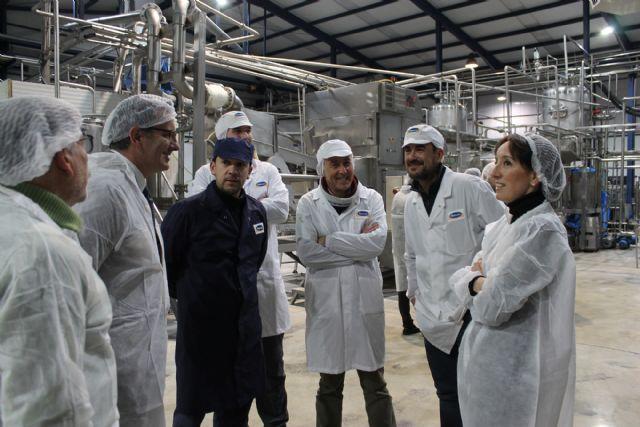 El Secretario General de Industria y PYMES visita las empresas de Bullas Palancares y Mensajero - 2, Foto 2