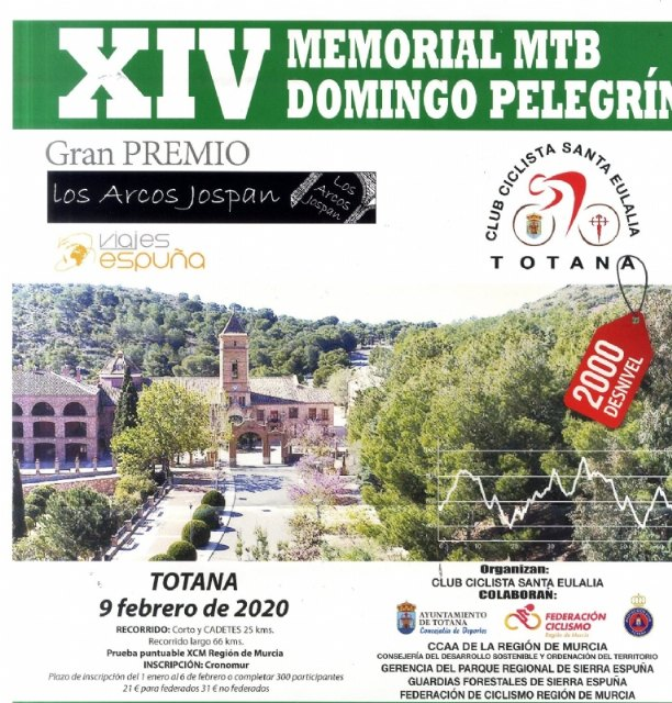 "The XIV MTB Memorial Sunday ""Pelegrin"" is held on Sunday February 9, Foto 4"