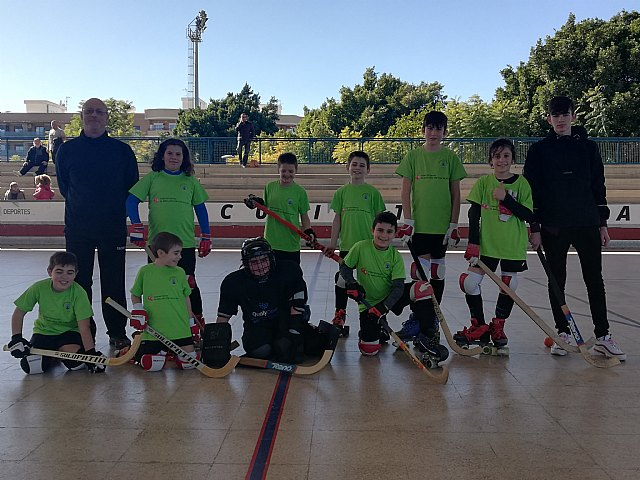 Double victory of the youngsters of the Hockey Club Skates Totana in the Valencian League