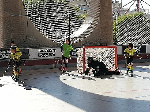 Double victory of the youngsters of the Hockey Club Skates Totana in the Valencian League, Foto 2
