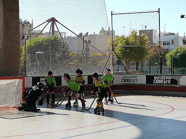Double victory of the youngsters of the Hockey Club Skates Totana in the Valencian League, Foto 3