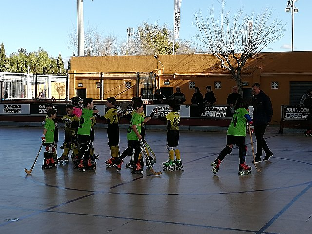 Double victory of the youngsters of the Hockey Club Skates Totana in the Valencian League, Foto 4